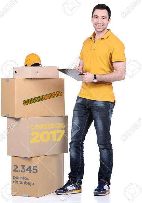 trabaja en correos